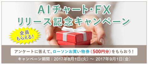 松井証券AIチャートキャンペーン
